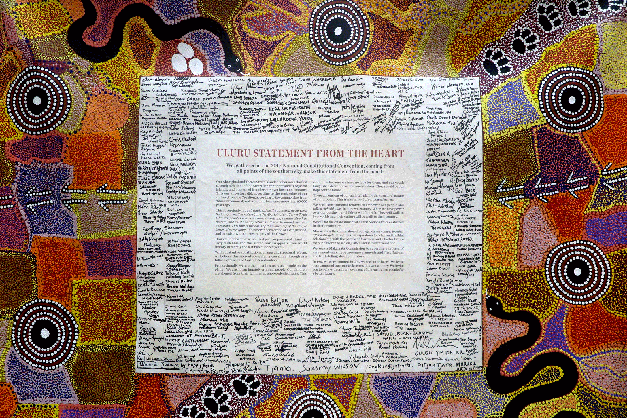 Uluru Statement From the Heart